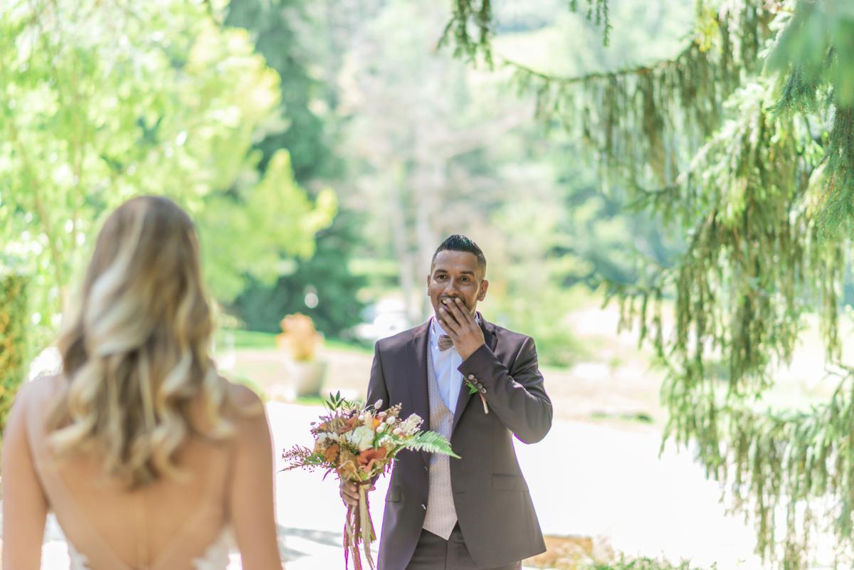 Découverte des mariés // Shooting d'inspiration publié sur Jolies Cérémonies