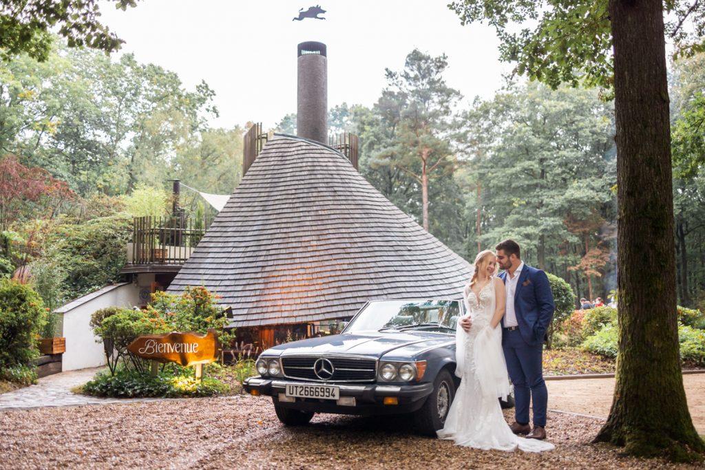 Un mariage en forêt, à proximité de Paris // Shooting d'inspiration publié sur Jolies Cérémonies