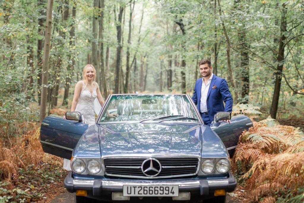 Un mariage en forêt // Shooting d'inspiration publié sur Jolies Cérémonies