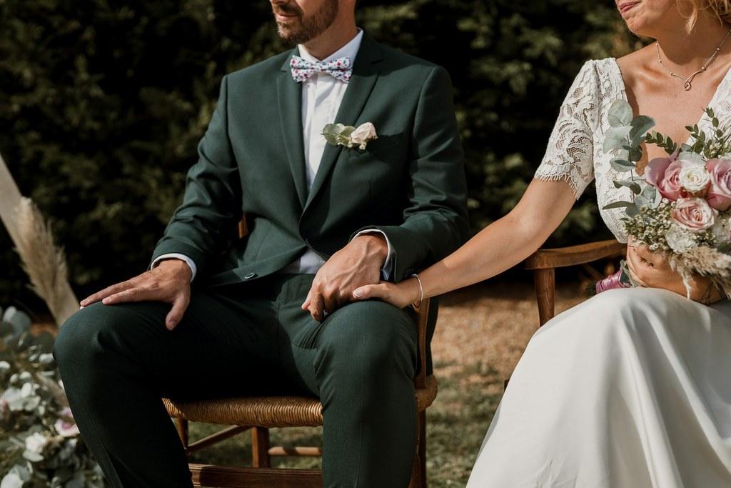 Cérémonie laïque // Shooting d'inspiration publié sur Wedding by Fabiola