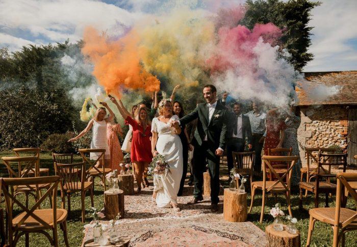 Shooting d'inspiration pour un mariage vintage et bohème