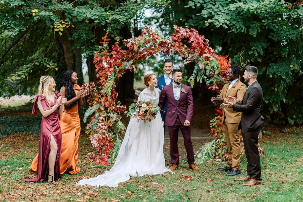 5 conseils pour une jolie cérémonie laïque automnale // Shooting d'inspiration publié sur Wedding by Fabiola