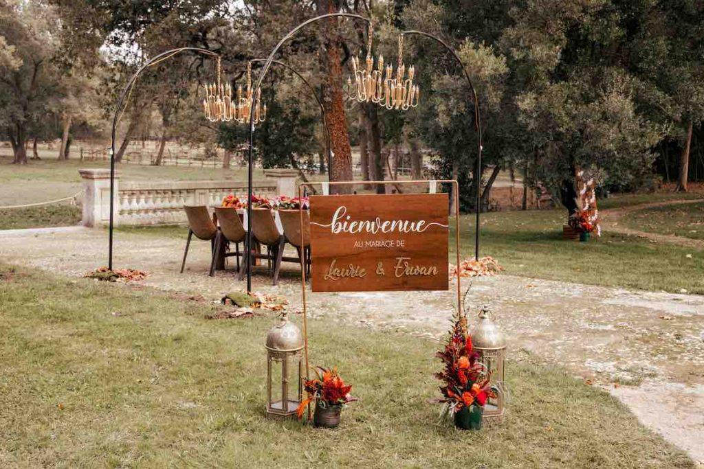 Shooting d'inspiration : un mariage en automne / Photo : Pitchoue Flash / Publication sur Wedding by Fabiola