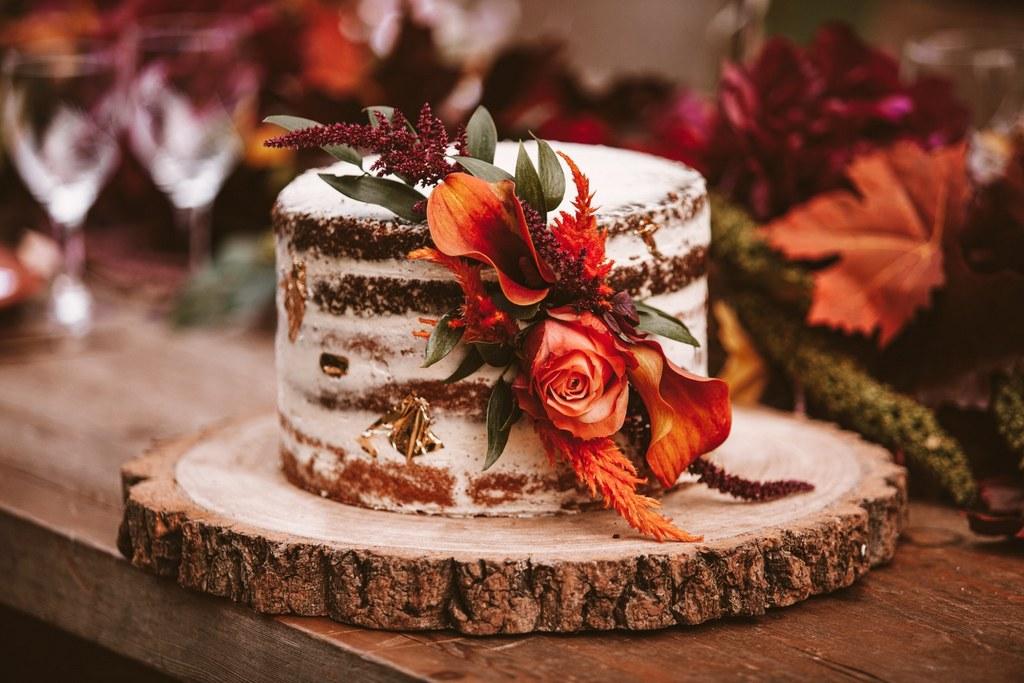 Shooting d'inspiration : un mariage en automne / Photo : Audrey Coppee / Publication sur Wedding by Fabiola