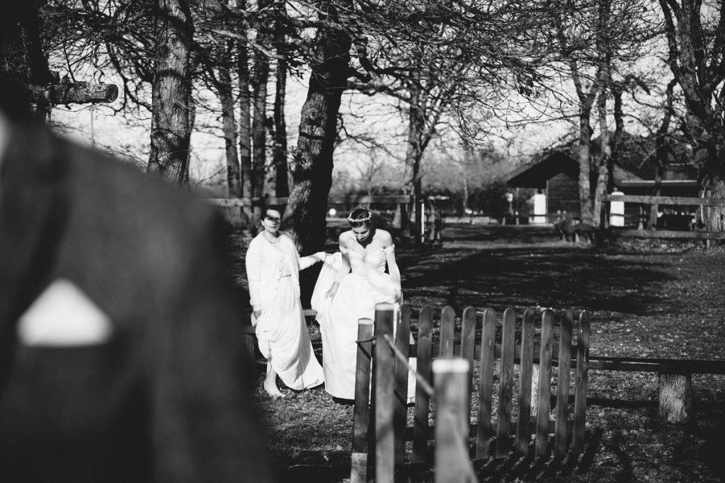 Un mariage chaleureux et doux au cœur de l'hiver / Publication sur Wedding by Fabiola / Photo Aude Arnaud