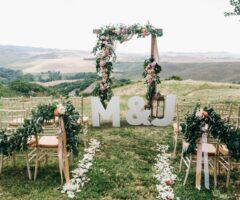 Sélection coups de cœur : les arches de cérémonie