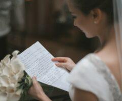5 conseils pour rédiger ses vœux de mariage