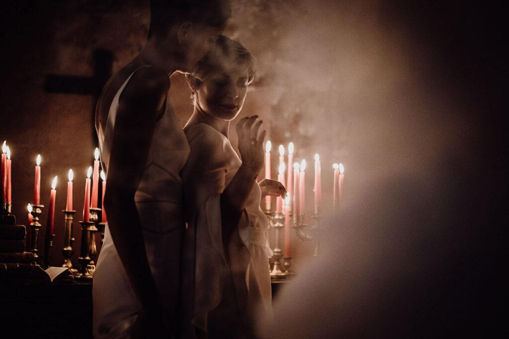 Mariage intime en Bretagne / Photo Lilypop Photographies / Shooting d'inspiration publié sur Wedding by Fabiola